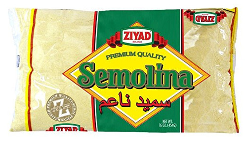 Ziyad Semolina Wheat, Smeed 16 OZ, (Pack 1)
