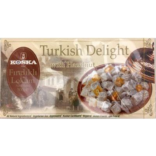 Koska Turkish Delight Hazelnut 500G