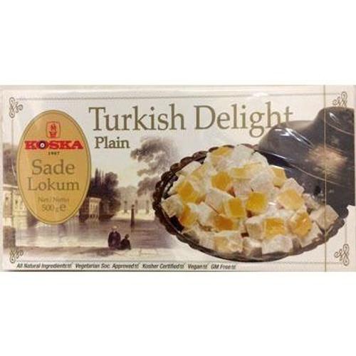 Koska Turkish Delight Plain 500G