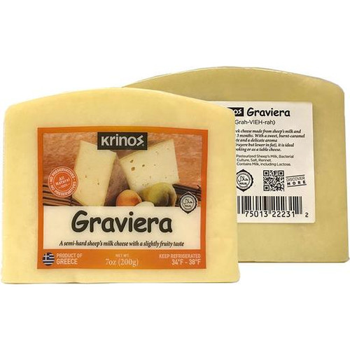 Krinos Graviera Cheese Wedges
