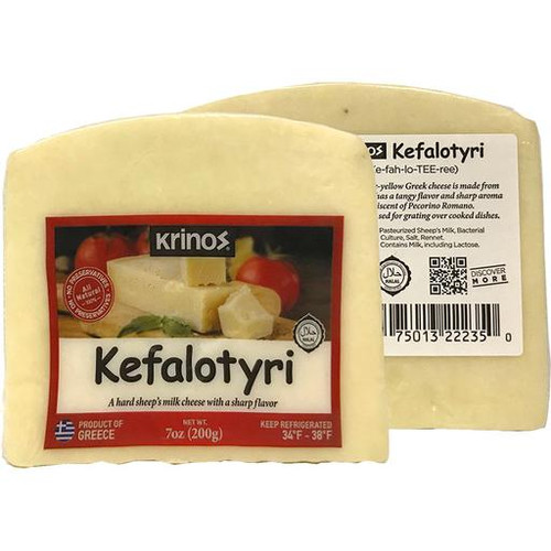 Kefalotyri Cheese Wedges 200G
