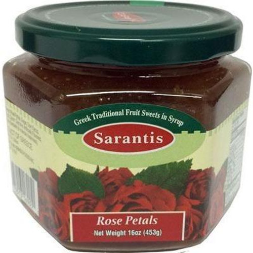 Sarantis Rose Petals in Sweet Syrup