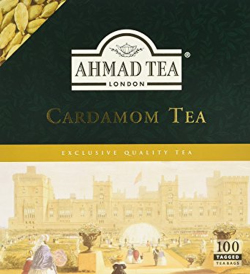 AHMADTEA Cardamom Tea (100 Tea Bags) 200g