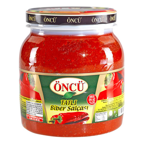 ONCU Mild Pepper Paste (Tatli Biber Salçası - 1650 gr)