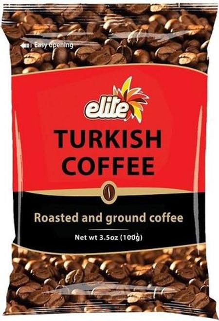Elite - Turkish Coffee Bag, 3.5-ounces