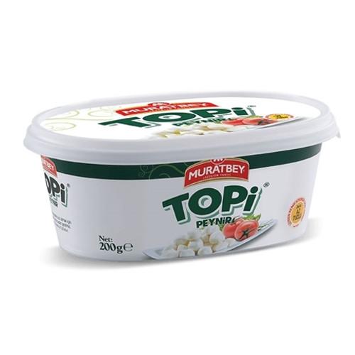MURATBEY Fresh Mozzarella Cheese Balls (Topi Peynir) 200g