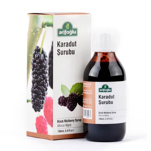 Arifoğlu Organic Black Mullbery Syrup-Morus Nigra 100mL