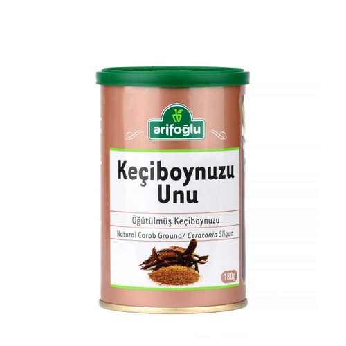 ARIFOGLU Ground Carob Flour 180g (6.35oz)