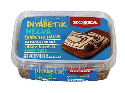 KOSKA DIABETIC SESAME HALVA WITH CACAO 12OZ