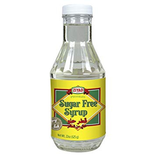 Ziyad Syrup Sugar Free. Ingredients: Maltitol syrup. Sugar free syrup used as a substitute of sugar for diabetics and weight loss dieters.