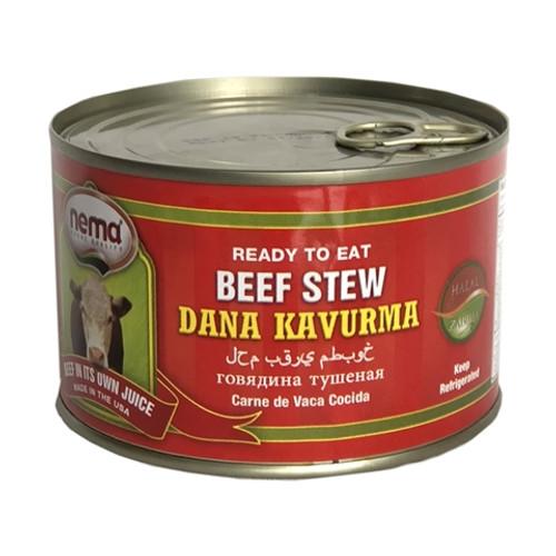 NEMA Beef Stew (Dana Kavurma) 14oz - 400g