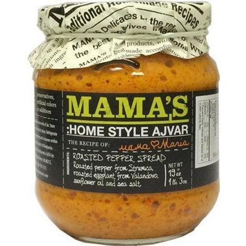 Mama's Ajvar Mild Roasted Pepper Spread