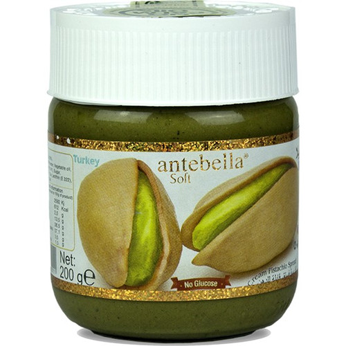 Antebella Soft Pistachio Spread for Breakfast 200 gr