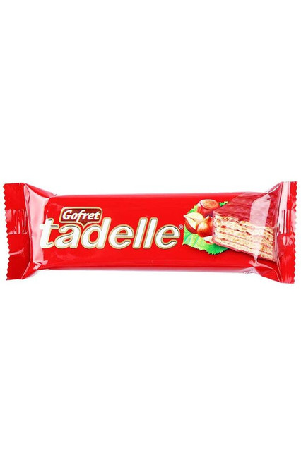 Ülker Hazelnut Cream Wafer Covered with Milk Chocolate Tadelle Gofret