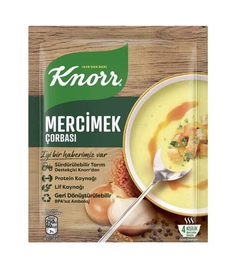 KNORR Lentil Soup (Mercimek Corbasi) 70g