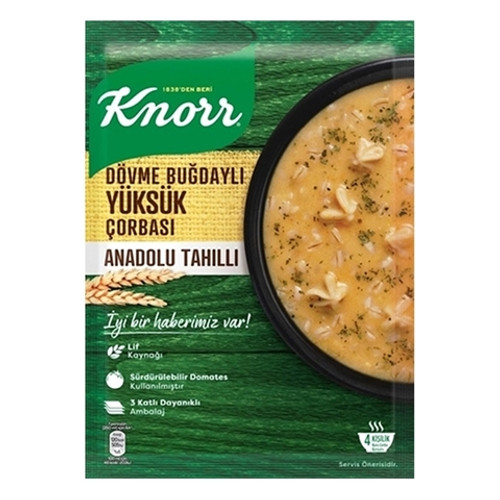 KNORR Traditional Tortellini Soup w/ Buckwheat and Grains