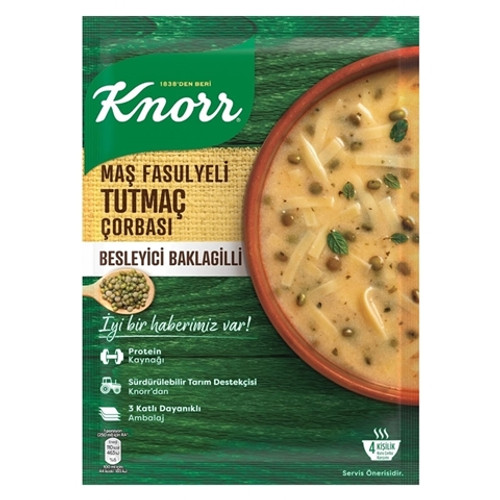 KNORR Tutmac Soup w/Mung Beans 98g