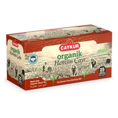CAYKUR Hemsin Organic Black Tea Bags 50g