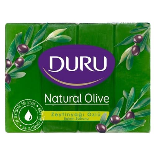 DURU Bath Soap w/ Olive Oil & Glycerine 4pk 600g