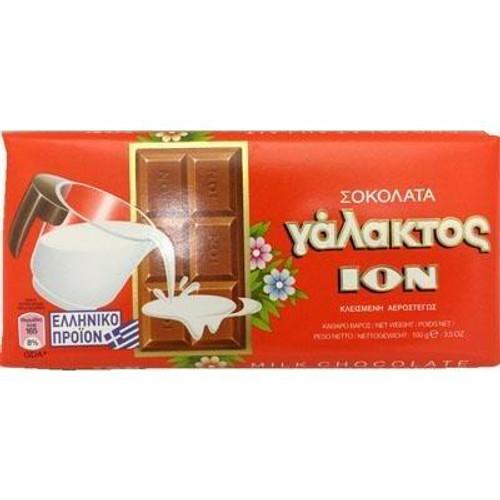 ION Greek Milk Chocolate Bars 100g