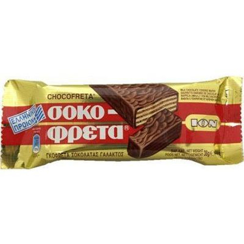 ION Greek Chocolate Covered Wafer