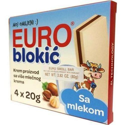 TAKOVO Eurocrem Blokic 4pk 80g