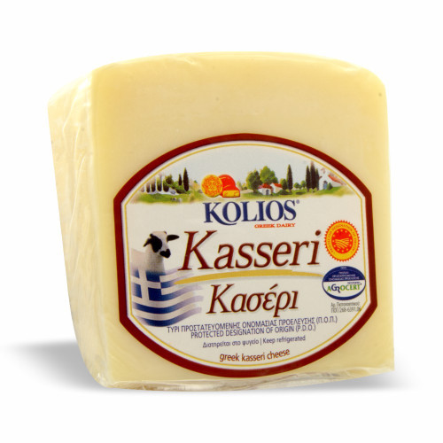 KOLIOS Kasseri Greek Cheese 226g