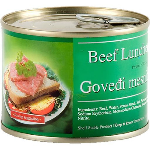 BROTHER&SISTER Govedji Narezak Beef Luncheon Loaf 200g