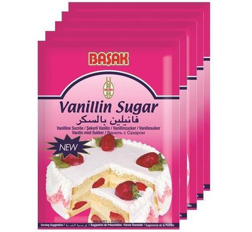 Basak Vanillin Sugar - Pack of (5X5g)