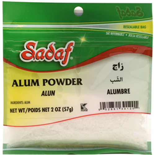 SADAF Alum Powder 2 oz