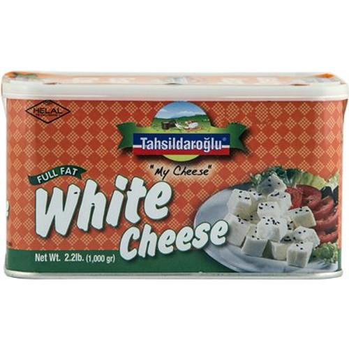 TAHSILDAROGLU White Cheese Full Fat 1000g tin