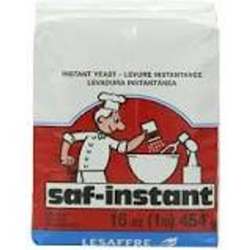 Lesaffre Saf-Instant Dry Instant Red Yeast, 16 oz