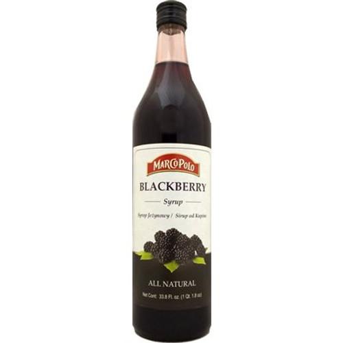 MARCO POLO Blackberry Syrup 33.8 Fl oz