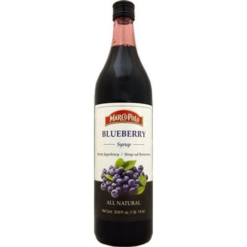 MARCO POLO Blueberry Syrup 33.8 Fl oz