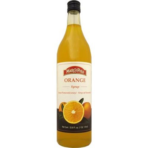 MARCO POLO Orange Syrup 33.8 Fl oz