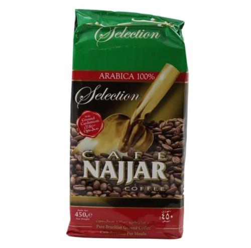 CAFE NAJJAR Ground Coffee w/Cardamom 450g