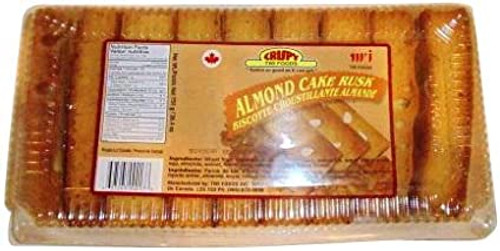 CRISPY Almond Cake Rusk