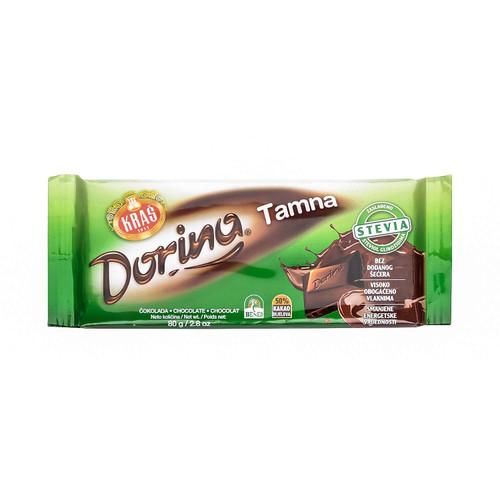 KRAS Dorina Tamna Chocolate 80g