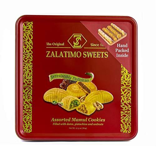 ZIYAD Zalatimo Sweets Assorted Mamul Cookies