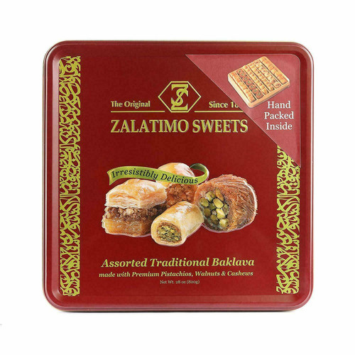 ZIYAD Zalatimo Sweets Assorted Traditional Baklava 820g