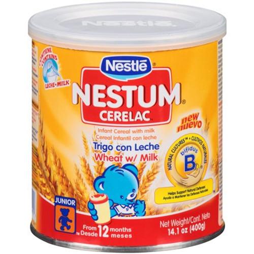 NESTLE Nestum Cerelac Wheat with Milk 400g