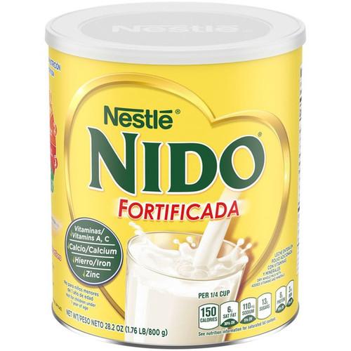 NESTLE Nido Fortificada Dry Whole Milk 800g