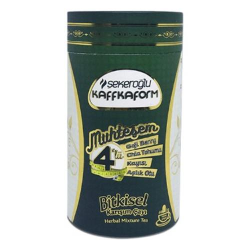 SEKEROGLU Kaffkaform Fantastic Four Herbal Mixture Tea 40gr x2 pack
