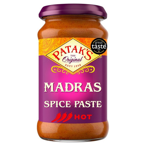 PATAK'S Madras Hot Spice Paste 283g