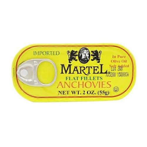 MARTEL Flat Fillets Anchovies 55g