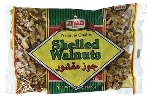 ZIYAD Shelled Walnuts 340g