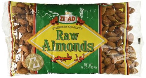 ZIYAD Raw Almonds 340g