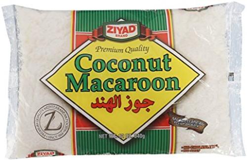 ZIYAD Macaroon Coconut 340g