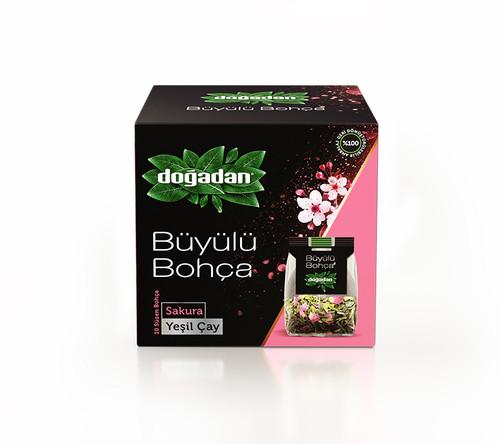 DOGADAN Buyulu Bohca Sakura Green Tea 32g