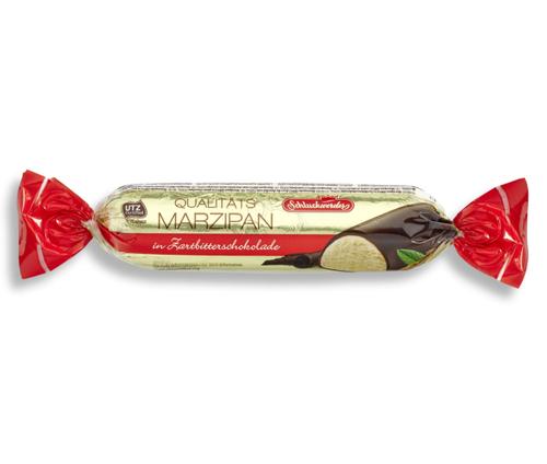 SCHLUCKWERDER Marzipan in Dark Chocolate 200g